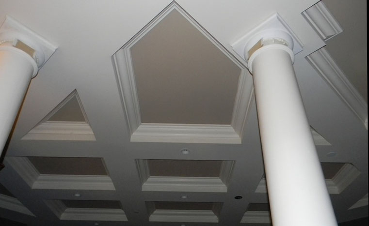 Decorative Pillars and Ceiling (2)