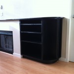 Fireplace Unit with Shelves 1