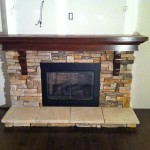 Fireplace Mantle and Stone Work 1