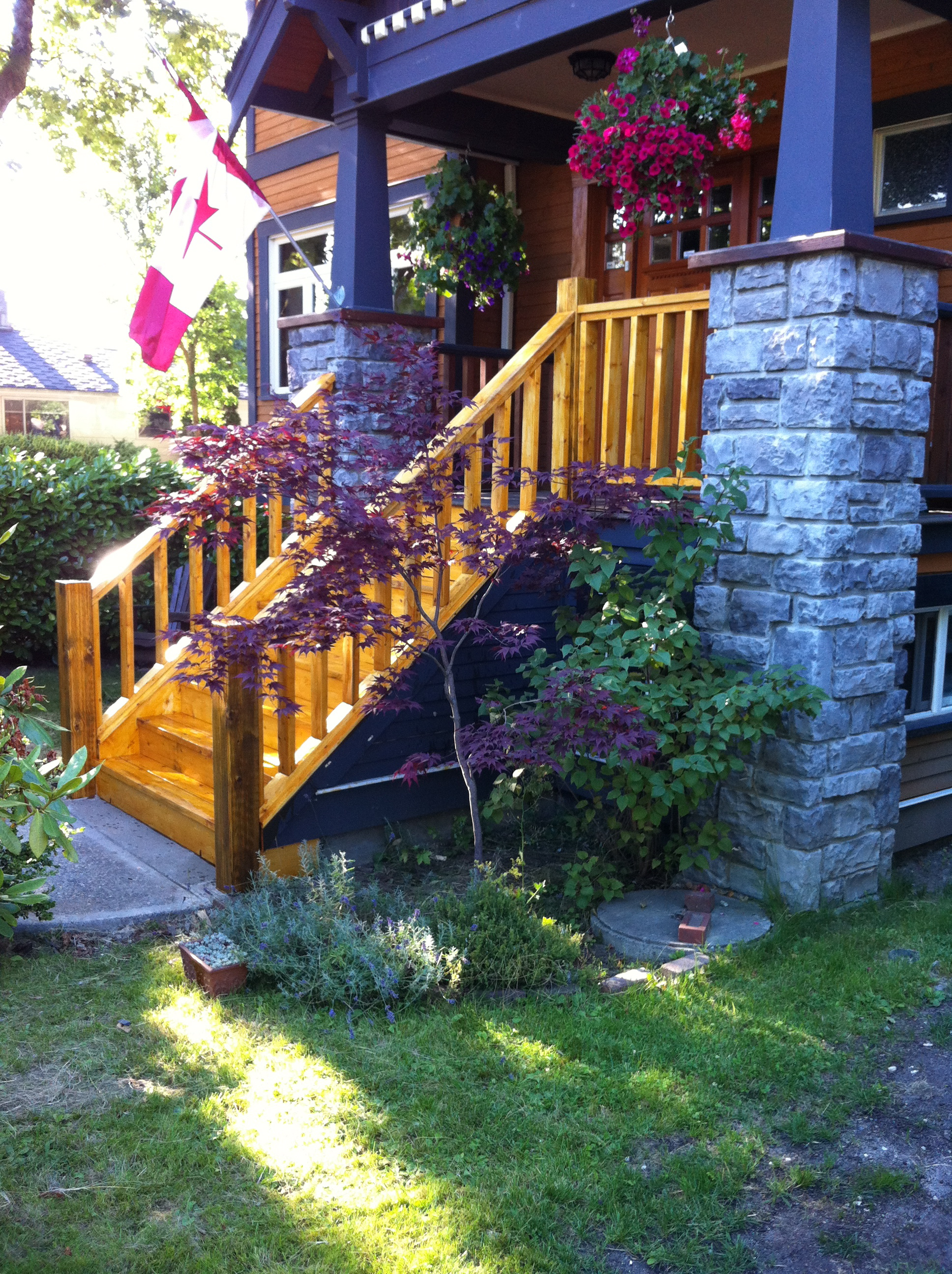 Railing and Stairs - Outdoor 1